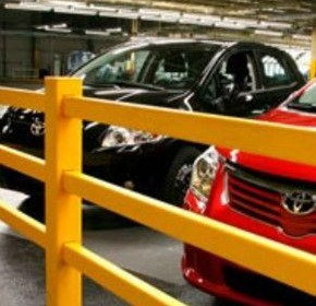 Pedestrian safeguarding solutions for Toyota manufacturing plant