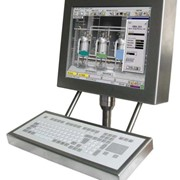Computer Workstation Operator Panels - Stainless Steel