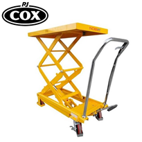 Manual Hydraulic Scissor Lift Tables - Single/Double Lift