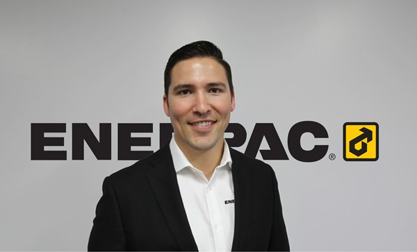 Enerpac Australasia's new leader, Mr Rustin Dring