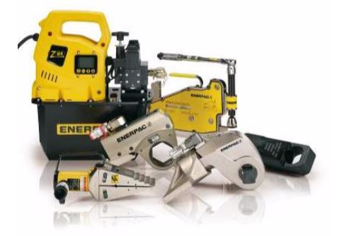 A range of Enerpac bolting technology.