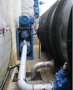 The Gormann-Rupp Ultra VS3A60-B pump in action.