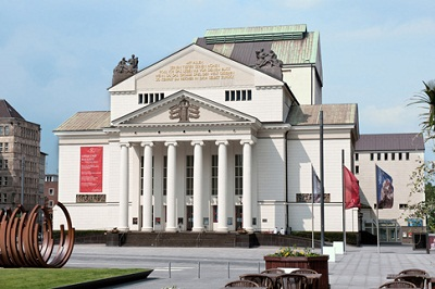 Plays, ballets, operas and concerts are staged at Theater Duisburg.