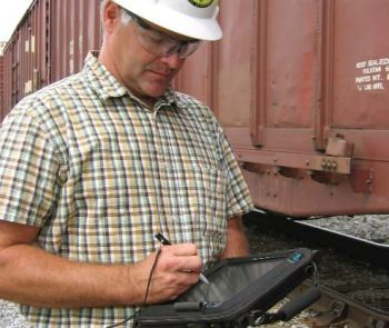 Yardmaster can view and access same information as trainmaster and pin-puller.