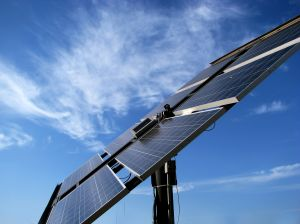 The solar panels will generate an average of about 30kWh of electricity per day.