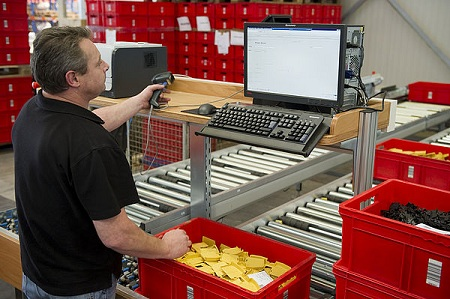 Warehouse managers admit to losing time and money through known inefficient workflows. photo: Viastore Systems.