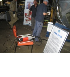 Suhner were in a good position to advise on techniques and provide the basics to undertake the job of restoring an RAAF Liberator.