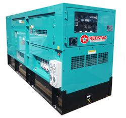"Redstar launch the new ""Series 2"" Denyo generators"