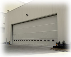 Industrial Fold up Roller Door