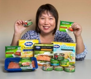 Chan: The benefits of incorporating fish into your diet are well-known, but a lot of women don't eat enough fish.