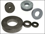 Ferrite magnets - rings from AMF Magnetics.