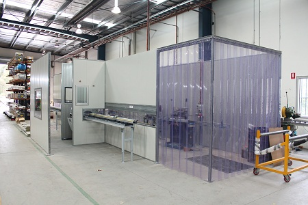 Acoustic enclosures effectively control airborne sound in industrial environments.