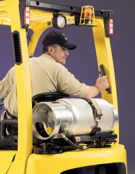 Operating forklifts should only be done by individuals who have been trained properly.
