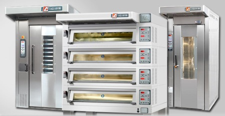 Tony McNab says the most defining feature of Tagliavini baking equipment is the extraordinarily high level of quality.