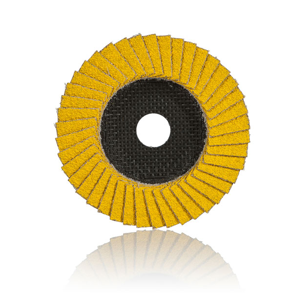 The Hellfire is the cutting edge of flap discs: not only does it cater for great performance, great price and great time efficiency – it also caters for the environment.