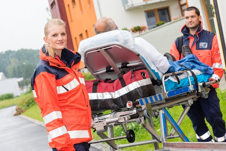 Paramedics have successfully employed a new cardiac treatment called thrombolysis.