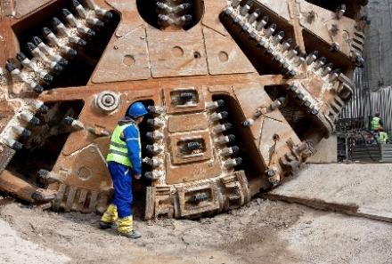 """The first tunnel boring machine will be in the ground next year and the three others will follow soon after,"" Barry O'Farrell said."