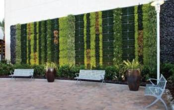 Elmich VGM Green Wall at Fashion Valley Mall, San Diego, California