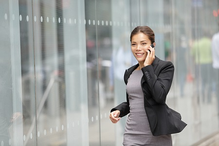 Time management tip: combine a staff progress update call with getting some brisk exercise and fresh air.