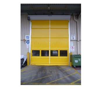 Staples installation of new Remax High Speed Doors