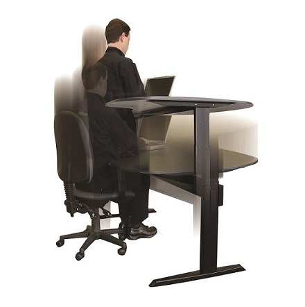 Standing desks are electric desks that can transform from traditional seated desks to elevated desks.