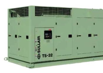 TS-32: Two-stage air compressor - Compressed air is one of the most convenient yet most expensive utilities in underground coal mining.