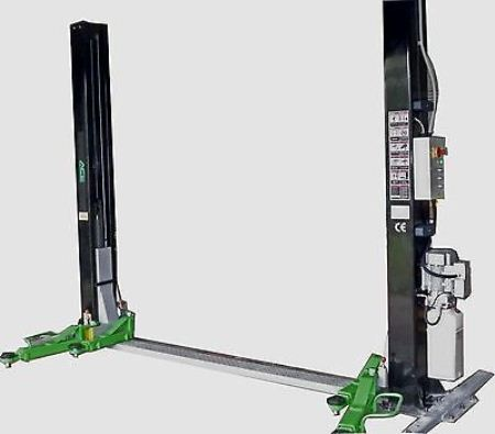 Two post base type car hoist