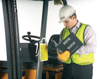 The major lifesaving function of a seatbelt in a forklift is a different role to its normal use for impacts.