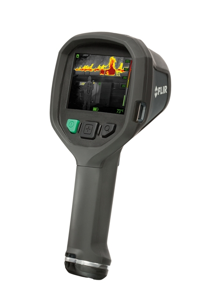 The lightweight FLIR K50 camera provides clear and detail rich images of 320x240 pixels.