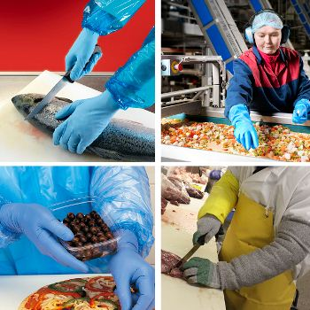 It is essential for food processing operators to use the right glove at the right time.