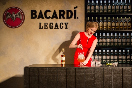 Gabriel presented the Bouteiller, her BACARDÍ Legacy drink to a panel of four judges on the night.