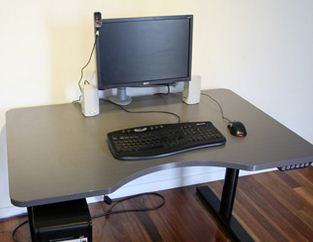 Linak's Zero™ technology used throughout Ergomotion's height adjustable desks