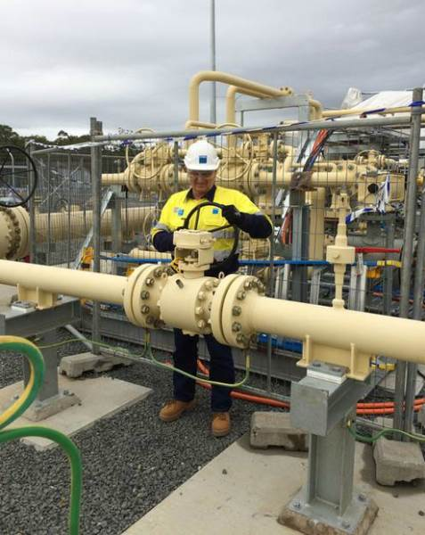Pipeline Actuation and Control, part of the H.I.Fraser Group, supplied pipeline ball valves for AGL's $310 million gas storage facility at Tomago.