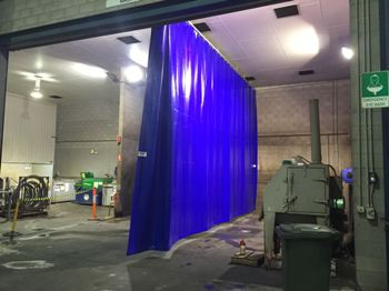 Flexshield's Wash Bay Screens provide numerous benefits.