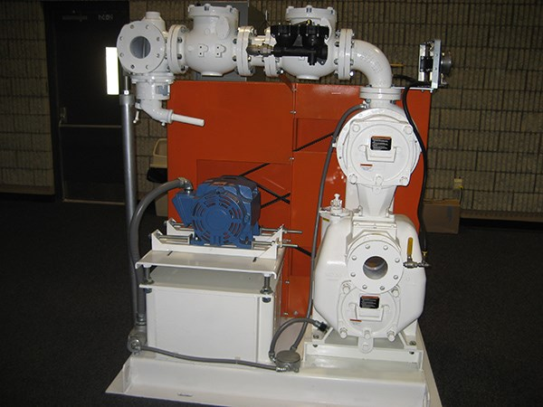 Typical VS3B60-B 2-Stage pump