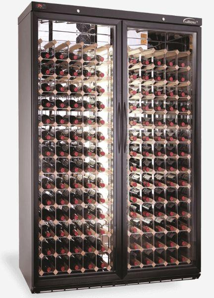 This upright WINE CABINET (self-contained) has been designed with industrial standard cooling system