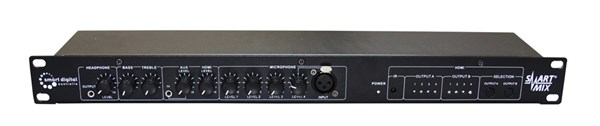Professional 6 Channel Audio Mixer SDM100
