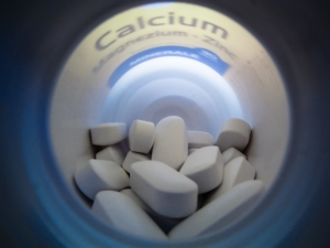 'Calcium supplements are often prescribed to older (postmenopausal) women to maintain bone health.'