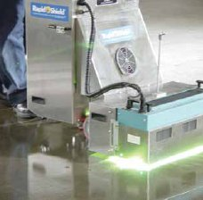 Nuplex's RapidShield industrial floor coating
