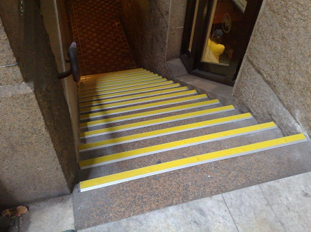 Anti-slip solutions can save a business and its staff.