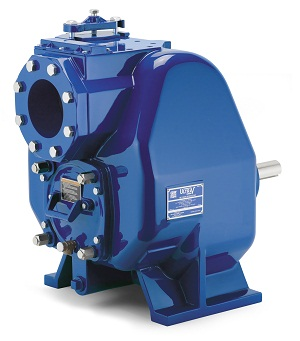 The V Series pump from HydroInnovation: Capable of handling solids laden fluids, including stingy materials such as rags, and can handle raw, unscreened sewage.