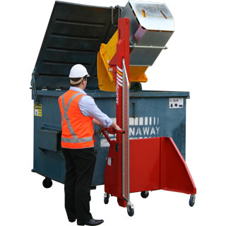 Sitecraft Power Bin Tippers