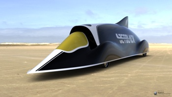 JetBlack World Land Speed record attempt