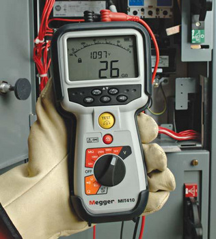 Megger MIT400 Series - CATIV Insulation Resistance Testers