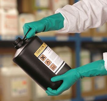 Ansell Sol-Vex® gloves – protection against epoxy resins. Photo courtesy Ansell Limited.