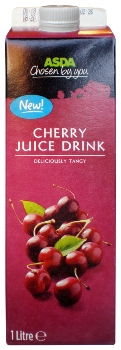 Asda Chosen By You cherry juice drink