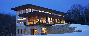 Sustainable Live/Work Home in Wisconsin