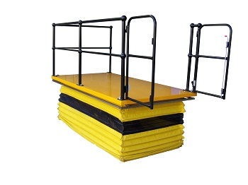 Scissor lift system from Advance Trolleys