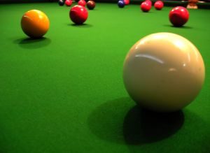 Whether it's a game of pool or electrons moving across gallium arsenide - small bumps prevent optimal performance.