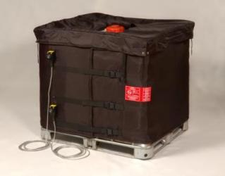 IBC heater jacket keeps product hot